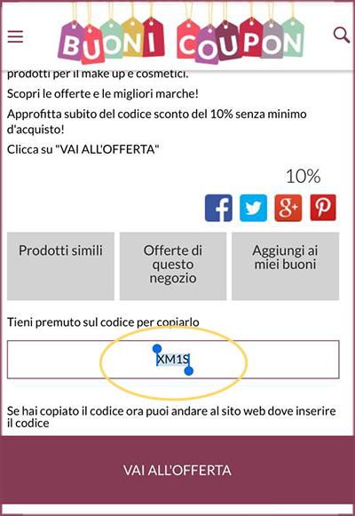 Guida all 39 uso dei codici sconto su buoni coupon blog for Buoni coupon