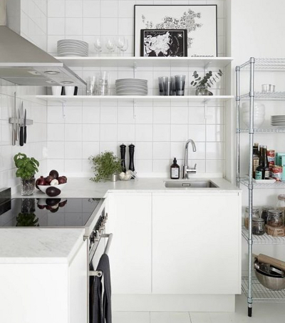 Idee salvaspazio per cucine piccole blog buoni sconto coupon for Cucine piccole dimensioni