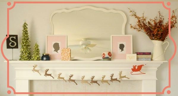 Decorazioni natalizie fai da te gli addobbi per la casa - Decorazioni invernali fai da te ...