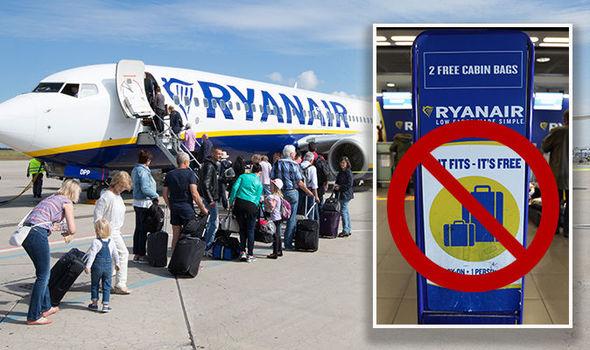 Ryanair: bagaglio in stiva gratis o sovrapprezzo di 5 euro ...