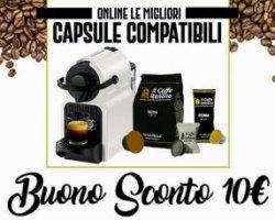 10€ omaggio su Caffè italiano