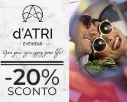 20% di sconto su www.datri-eyewear.com