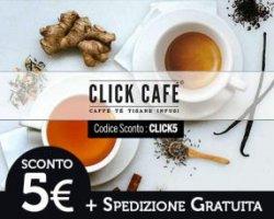 Sconto su Click Cafè