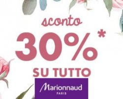 Sconto 30% Marionnaud.it