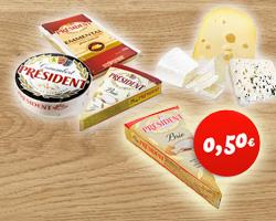 Buono Sconto stampabile di €0,50  President Brie