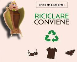 Intimissimi: voucher in cambio di abbigliamento usato