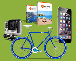 Hero Muesly: vinci iPhone, GoPro, bici o weekend