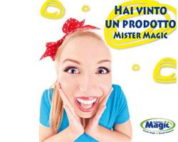 Vinci Prodotti Mister Magic con il nuovo contest!