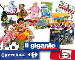 Spendi e RIPRENDI GIOCATTOLI: Carrefour, Il Gigante, Bennet