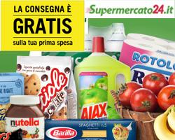 Supermercato24.it: spesa online, consegna GRATIS