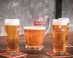 Cuore Peroni: ricevi gratis casse di birra, bicchieri e gadget
