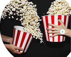 Biglietti cinema omaggio con Kinder