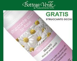 Bottega Verde: Struccante occhi in Omaggio!