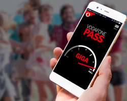 5GB in Regalo con Vodafone Pass&Social