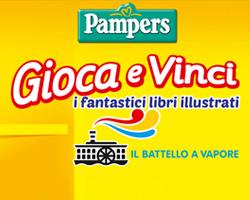 Gioca e vinci libri illustrati con Pampers!