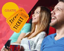 Cinema per 2 persone in Omaggio