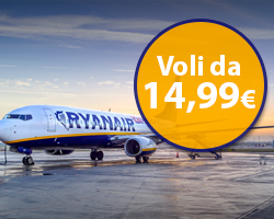 Ryanair: 500.000 voli a partire da 14,99€