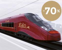 Italo Treno: biglietti scontati al 70%