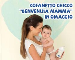 """Chicco: """"Benvenuta Mamma"""" + 120€ per te!"""