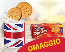 Tazza British in regalo con McVitie's