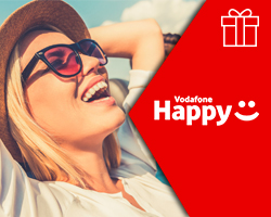 Sconto 25% sul Samsung Shop by Vodafone Happy!