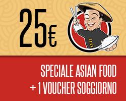 BOFROST: Asian Food + Soggiorno in hotel o agriturismo.