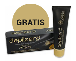 Crema depilatoria all'olio di Argan gratis per te!