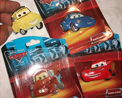 Magneti Cars 3 omaggio con Crema Bel Paese Galbani