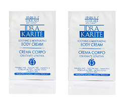 Richiedi i campioni omaggio crema corpo Idra Karitè