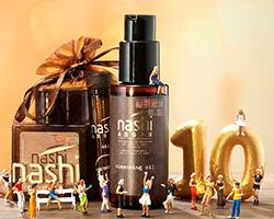 Ricevi gratis olio struccante e kit di campioni Nashi Argan
