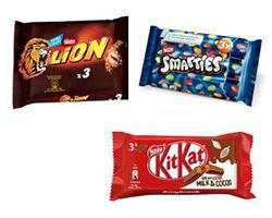 Buoni sconto Smarties, Lion e KitKat Nestlè