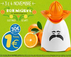 Spremiagrumi Don Miguel 1 euro da Eurospin