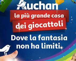 Auchan: Tante idee regalo e buono sconto da 5€