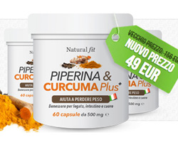 Piperina e Curcuma: Risparmia e perdi peso naturalmente