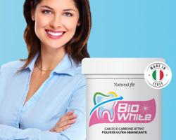 Denti più bianchi con BioWhite scontato al 50%