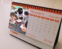 Ricevi gratis il calendario Terre des Hemmes 2018