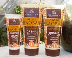Starbene con TuStyle e doccia schiuma Oro di Baobab