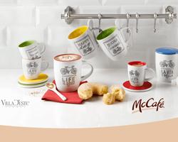 Set McCafè Villa D'Este Home Tivoli Omaggio da McDonald's