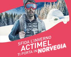 Vinci un viaggio in Norvegia con Actimel