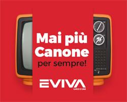 Mai più Canone TV con Eviva!