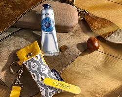 L'Occitane: kit omaggio con crema mani al karité e limetta unghie