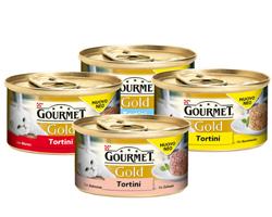 Zooplus: 48 + 12 gratis cibo umido per gatti Gourmet Gold