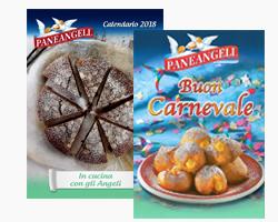 Omaggio calendario e ricettario di Carnevale Paneangeli