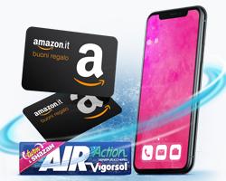 Vinci buoni Amazon e Iphone X con Vigorsol