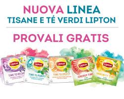 """Lipton """"Provali gratis"""": ricevi il rimborso del 100%"""