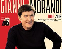 Vinci gratis 2 biglietti per il tour di Gianni Morandi
