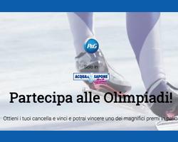 Vinci più di 1000 premi con P&G Winter Olympics