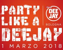 """Vinci gratis i biglietti per la festa """"Party Like A Deejay"""""""