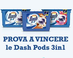 Desideri Magazine: vinci gratis una confezione di Dash Pods 3in1