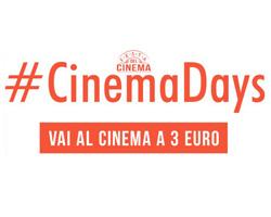 Cinemadays 2018: biglietti per il cinema a 3€